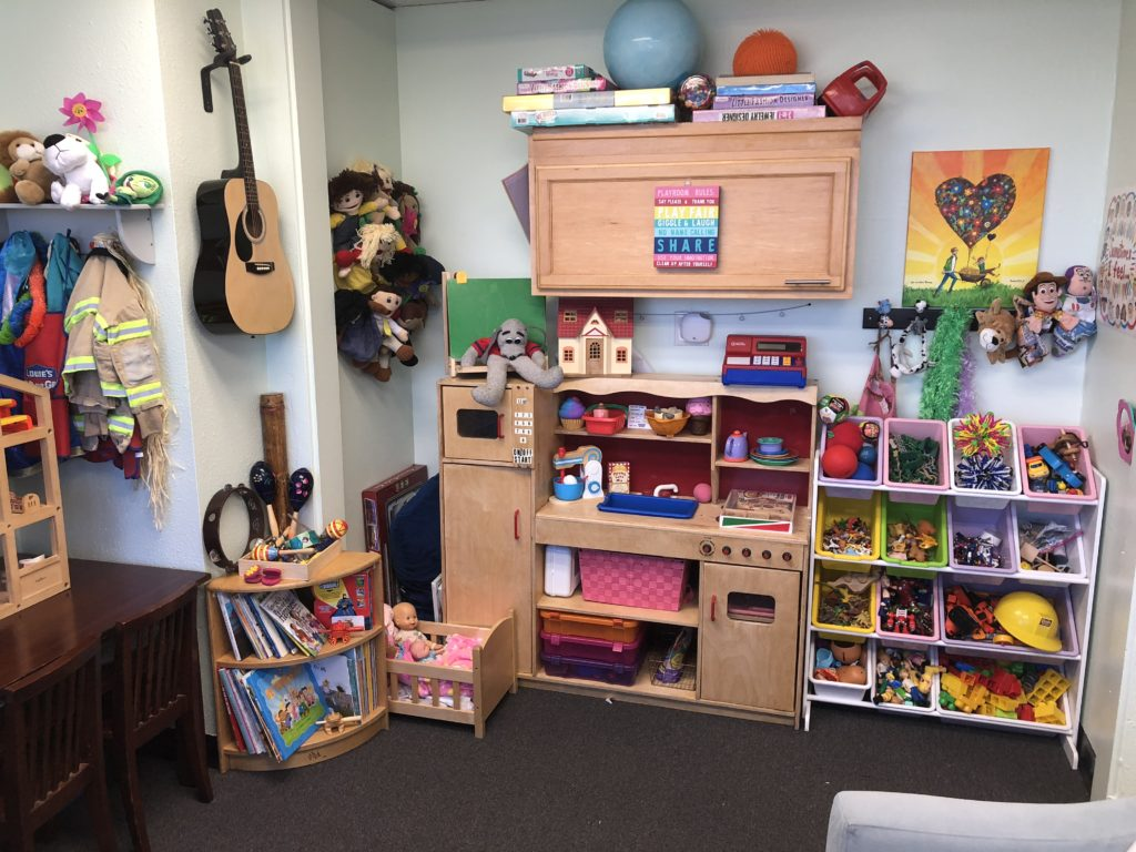 Play therapy area